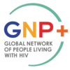 Global Network Of People Living With Hiv Gnp+ Logo