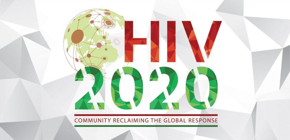 HIV2020 logo